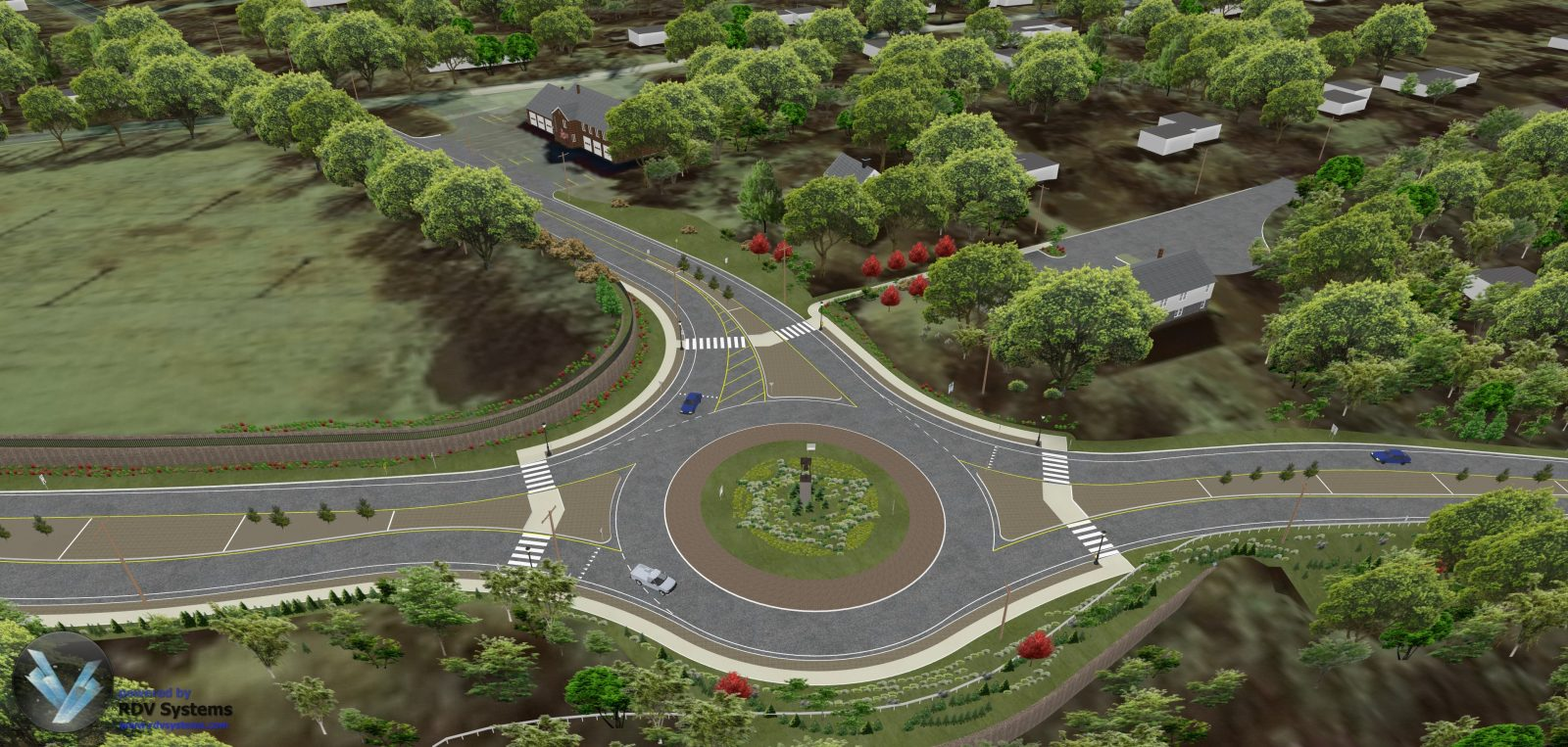 RDV Systems - Monroe Roundabout 2