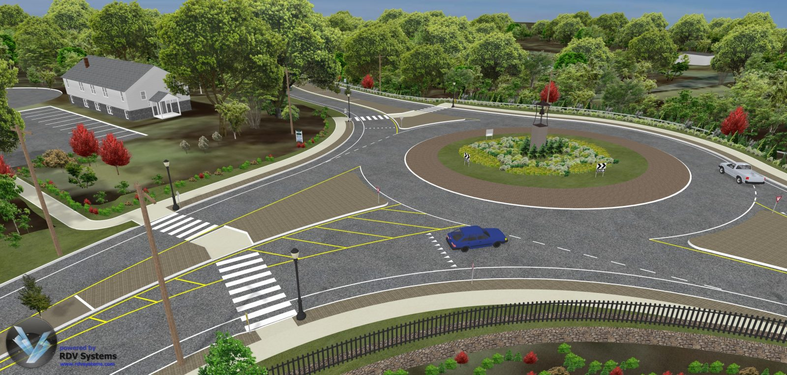 RDV Systems - Monroe Roundabout 3