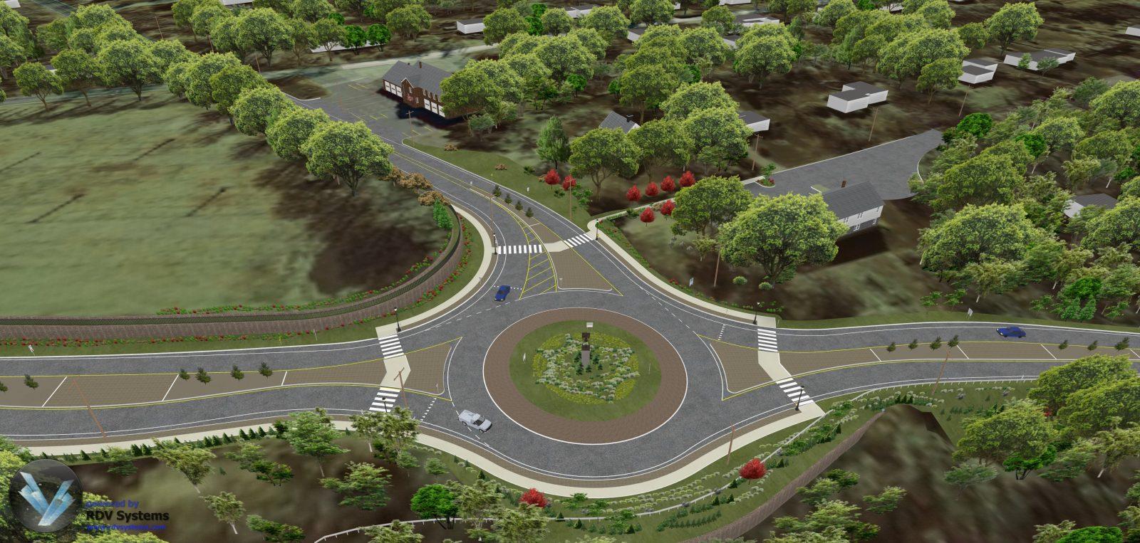RDV Systems - Monroe Roundabout 2
