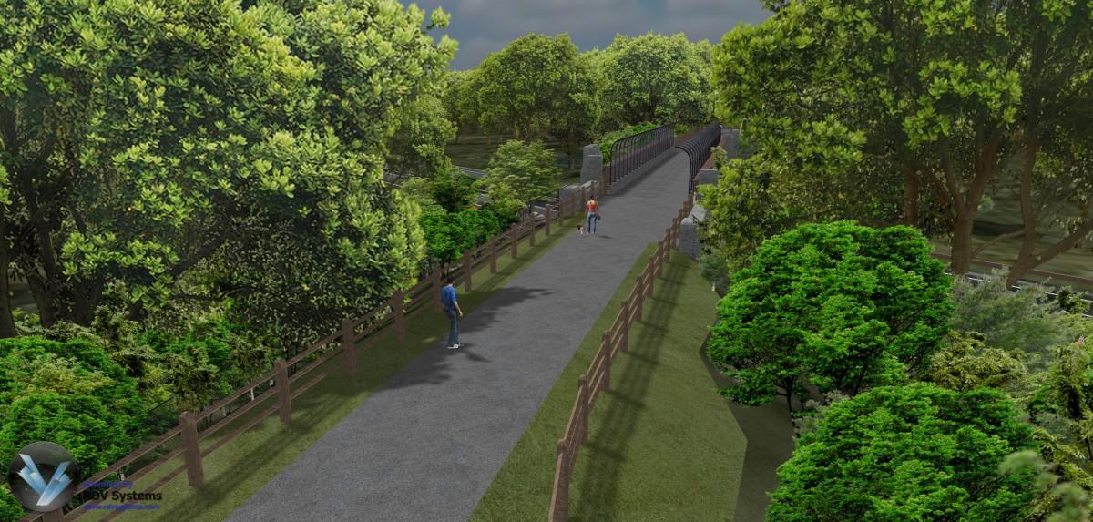 RDV Systems - Pequonnock River Trail 1