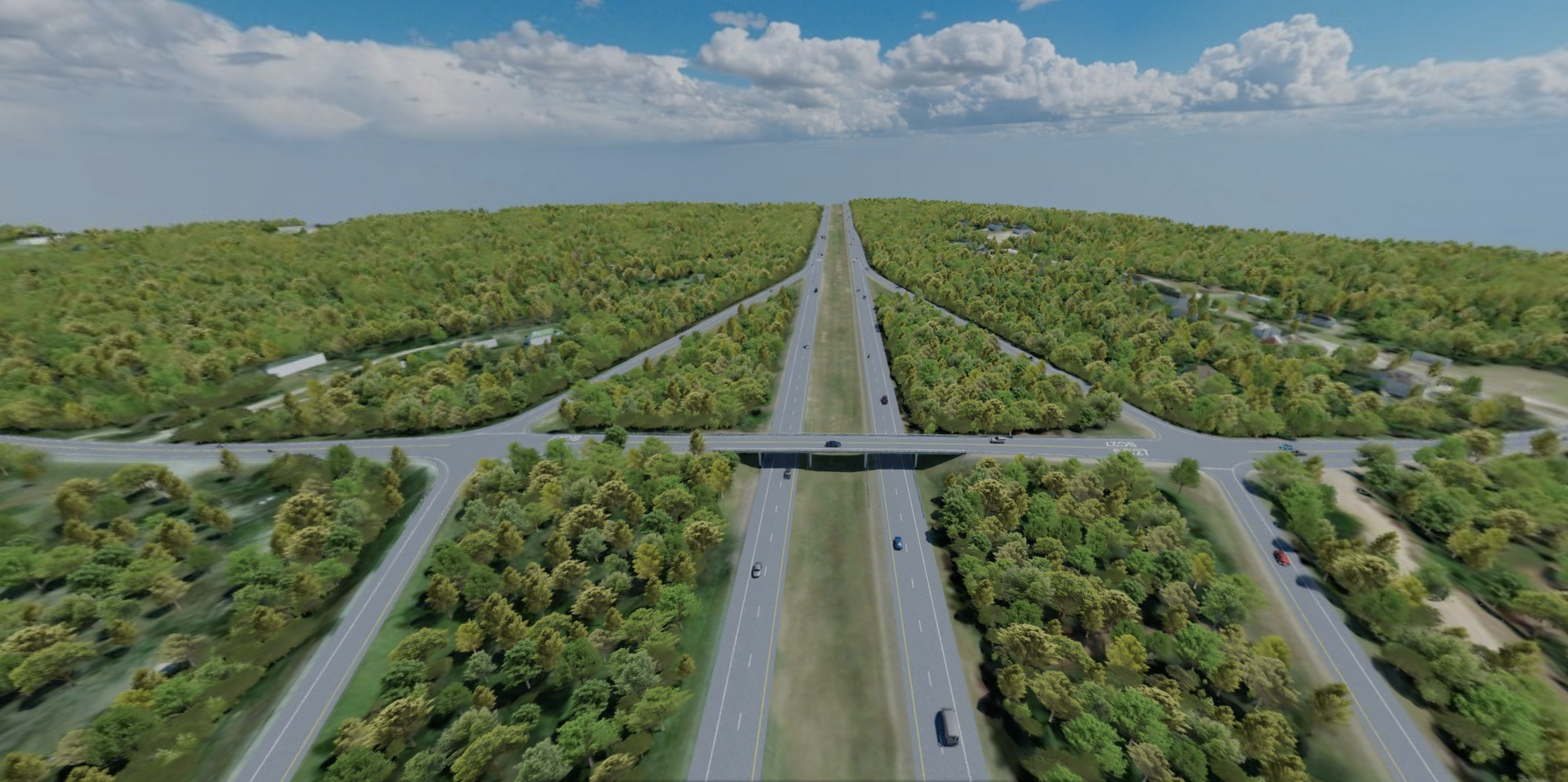 SCDOT I-26 Reconfiguration - Existing Conditions | RDV Systems