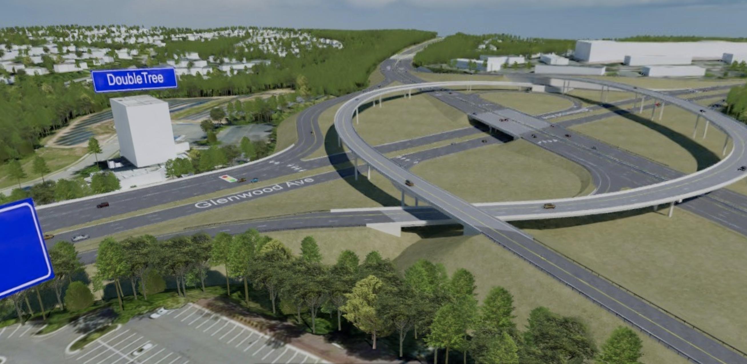 I-440 Glenwood Avenue HDR Design Concept 4   RDV Systems