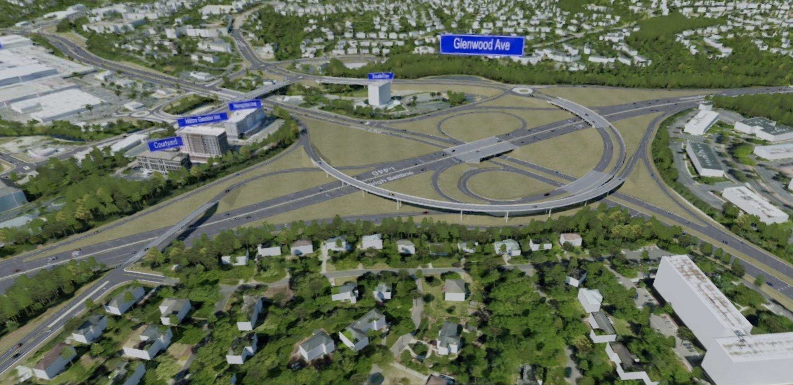 I-440 Glenwood Avenue HDR Design Concept 7   RDV Systems