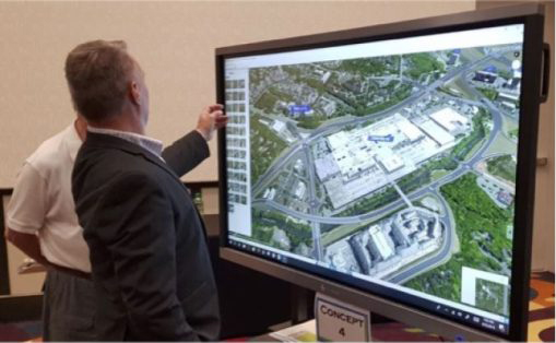 I-440 Glenwood Avenue Public Meeting   3D Visualization   RDV Systems