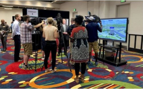 I-440 Glenwood Avenue Public Meeting | 3D Visualization | RDV Systems