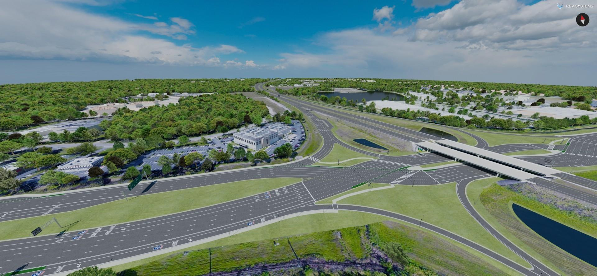 How Visualization Shows What Can't be Seen | I-75 Colonial Blvd Project | RDV Systems