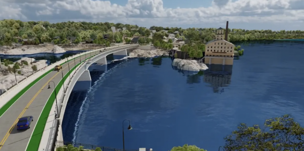 Frank J. Wood Bridge Replacement Project   Brunswick, ME   RDV Systems