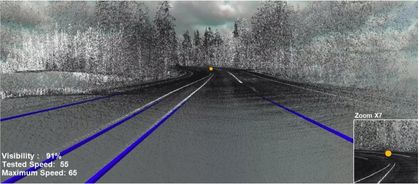 Cutting Edge of Road Safety | Existing Road by LiDAR | RDV Systems
