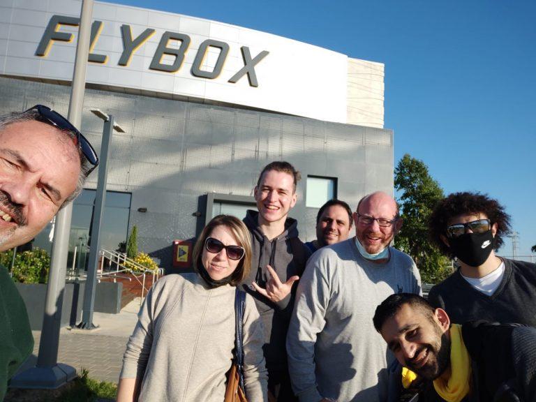 In-Door Sky Diving - Fun Day (Eliran Kasif, Igal Itzhakov, Natan Elsberg, Nadav Marcus, Evgen Zilberman, Katya Pershin, and Arkady Ratnitsky)