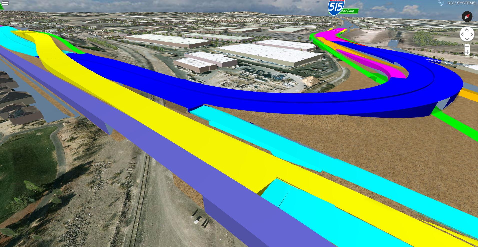 Error in geometry of roadway | RDV Systems