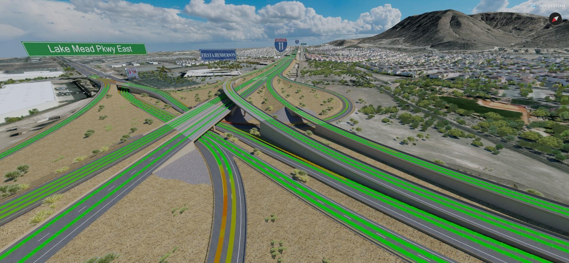 Road Safety Analysis of Henderson Interchange in Nevada | Innovative Visualization | RDV Systems