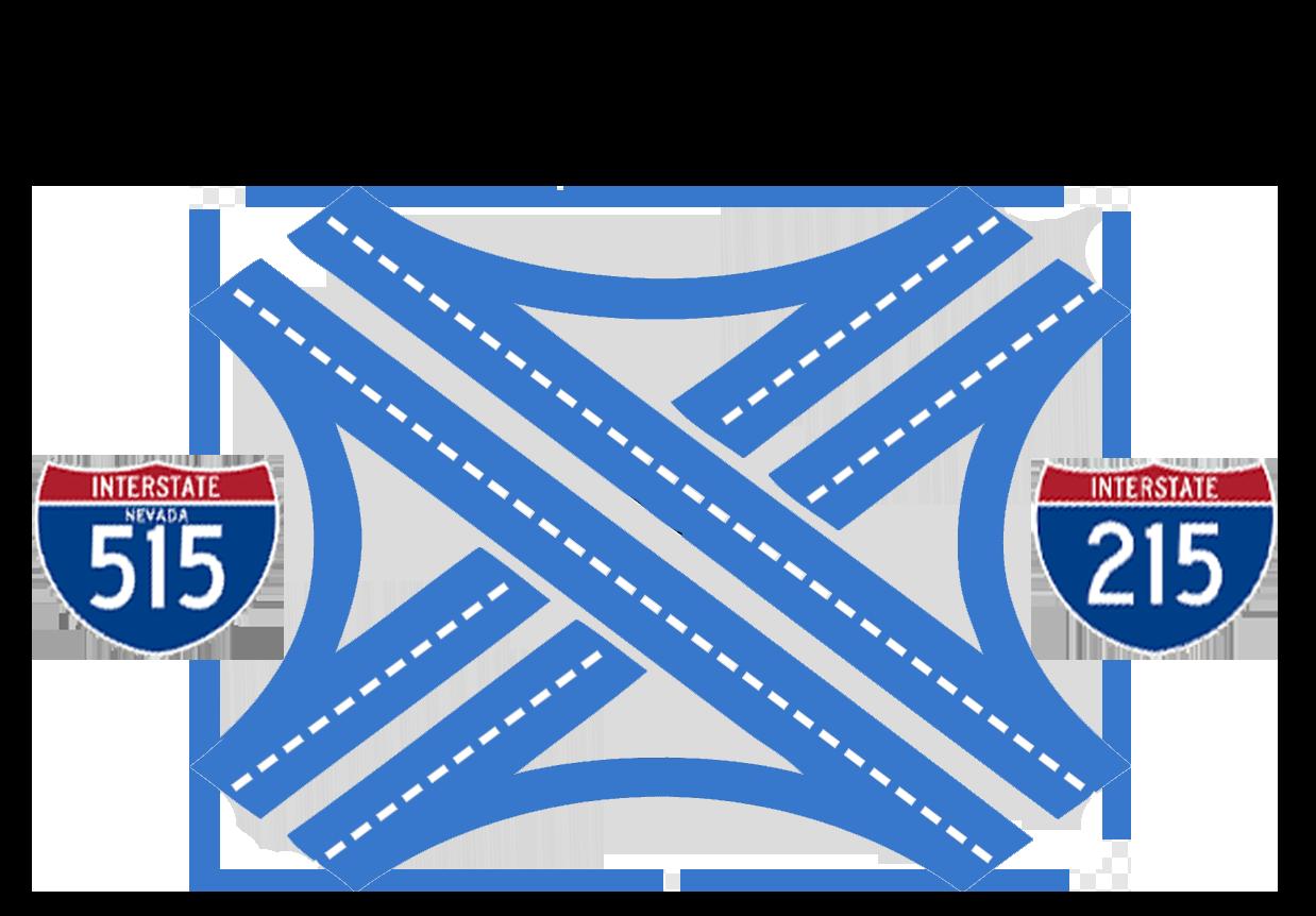 I-215/I-515 Interchange Icon | RDV Systems