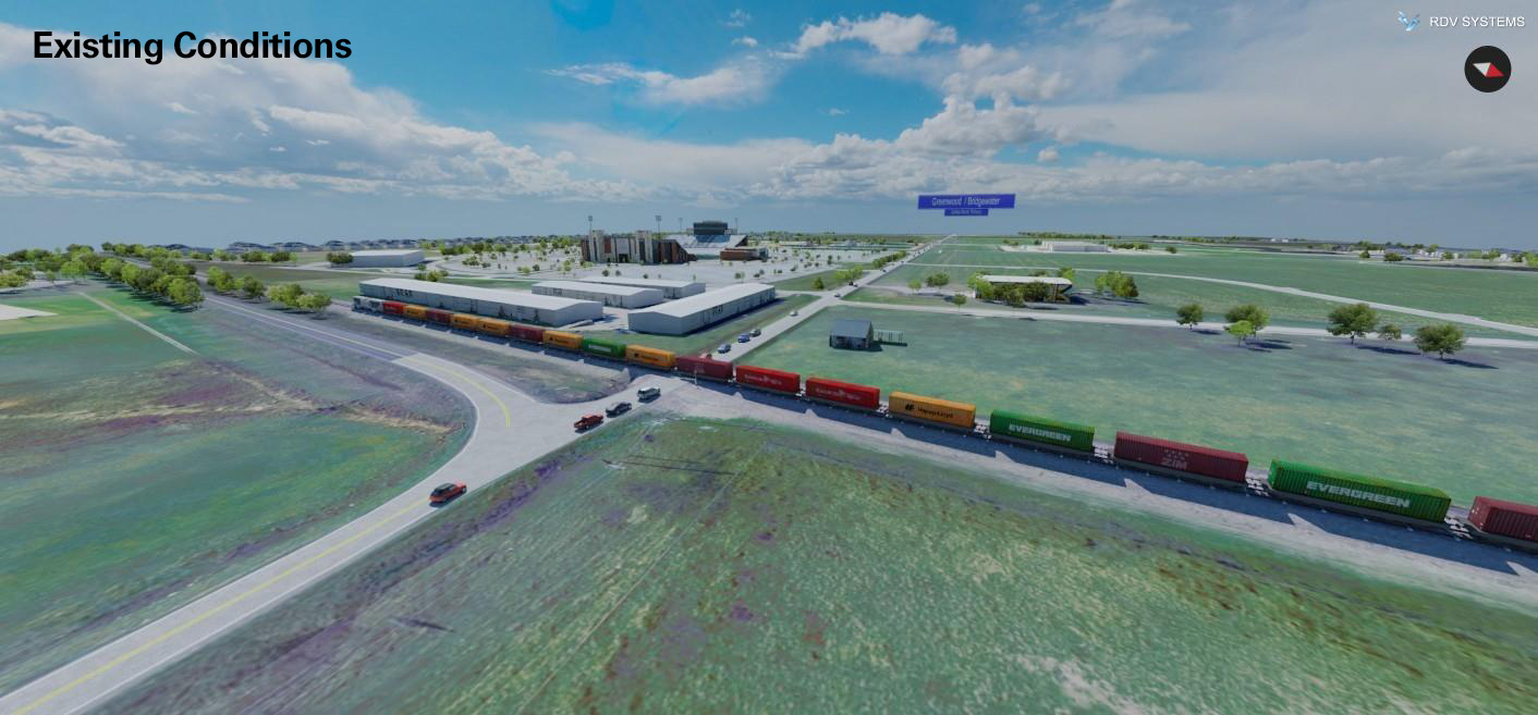 Frontier Parkway Railroad Existing   RDV Systems