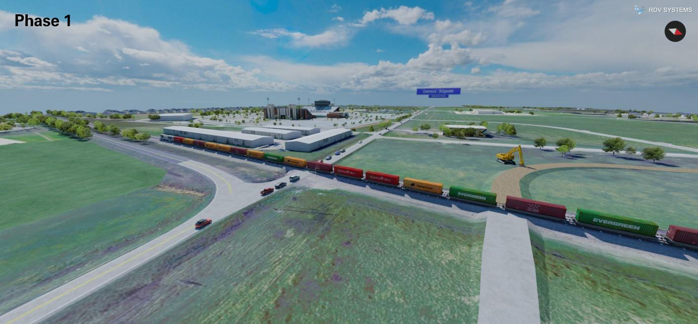 Frontier Parkway Railroad Phase 1   RDV Systems