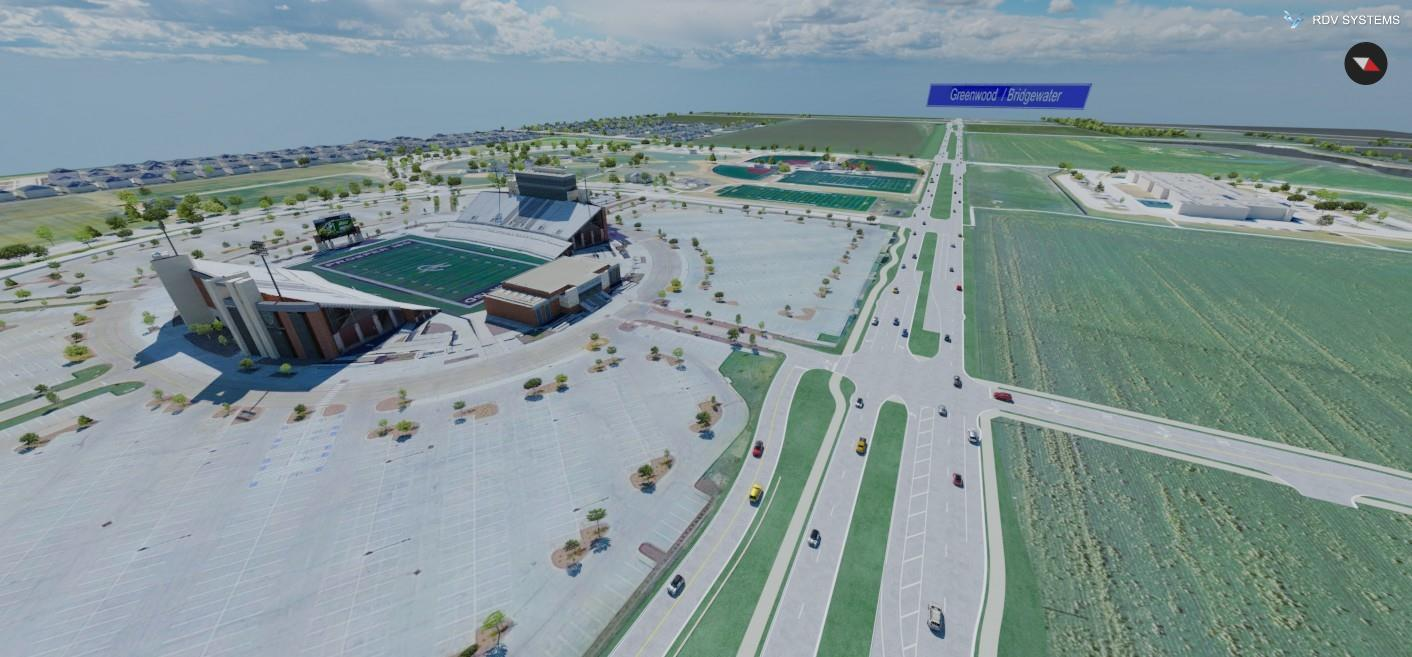 Frontier Parkway Final Design | RDV Systems