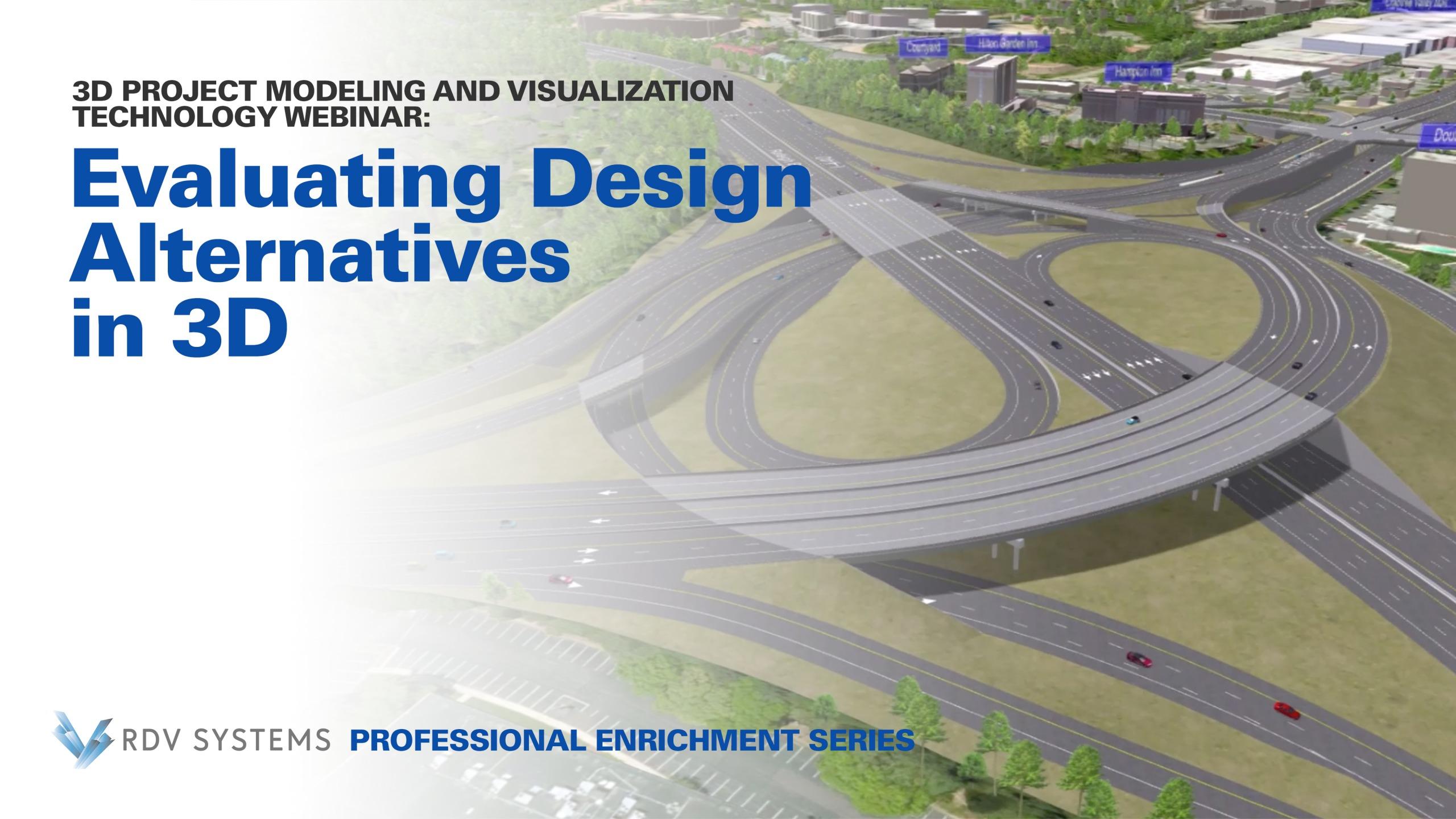 Design Alternatives Webinar | RDV Systems